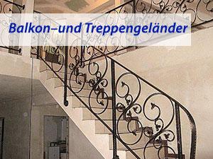 Balkon – und Treppengeländer